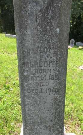 MEREDITH, CHARLOTTE - Wayne County, Tennessee | CHARLOTTE MEREDITH - Tennessee Gravestone Photos