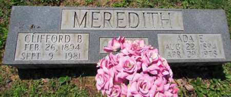 MEREDITH, CLIFFORD - Wayne County, Tennessee | CLIFFORD MEREDITH - Tennessee Gravestone Photos