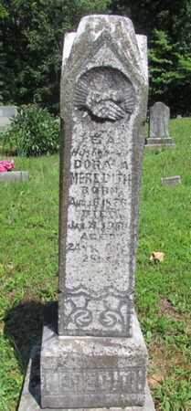 MEREDITH, DORA A. - Wayne County, Tennessee | DORA A. MEREDITH - Tennessee Gravestone Photos