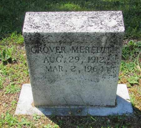 MEREDITH, GROVER - Wayne County, Tennessee | GROVER MEREDITH - Tennessee Gravestone Photos