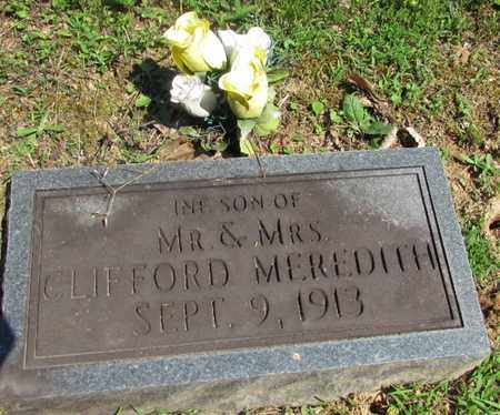 MEREDITH, INFANT SON - Wayne County, Tennessee | INFANT SON MEREDITH - Tennessee Gravestone Photos