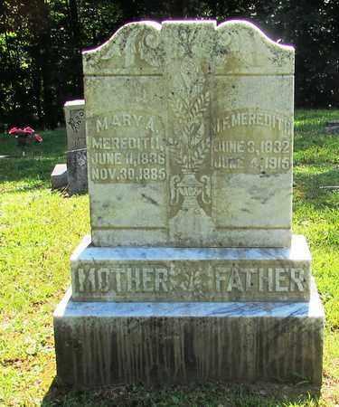 MEREDITH, J. F. - Wayne County, Tennessee   J. F. MEREDITH - Tennessee Gravestone Photos