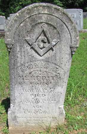 MEREDITH, LOVIC R. - Wayne County, Tennessee | LOVIC R. MEREDITH - Tennessee Gravestone Photos