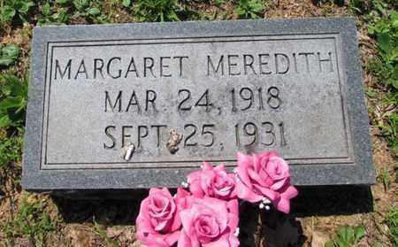 MEREDITH, MARGARET - Wayne County, Tennessee | MARGARET MEREDITH - Tennessee Gravestone Photos