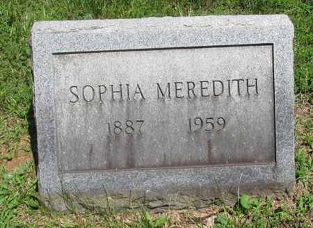 MEREDITH, SOPHIA - Wayne County, Tennessee | SOPHIA MEREDITH - Tennessee Gravestone Photos