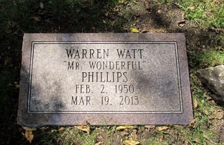 PHILLIPS, WARREN WATT - Wayne County, Tennessee | WARREN WATT PHILLIPS - Tennessee Gravestone Photos