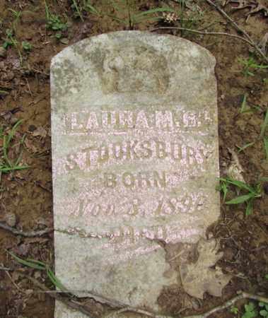 STOOKSBURY, LAURA M. B. - Wayne County, Tennessee | LAURA M. B. STOOKSBURY - Tennessee Gravestone Photos