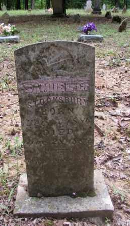 STOOKSBURY, SAMUEL G. - Wayne County, Tennessee | SAMUEL G. STOOKSBURY - Tennessee Gravestone Photos