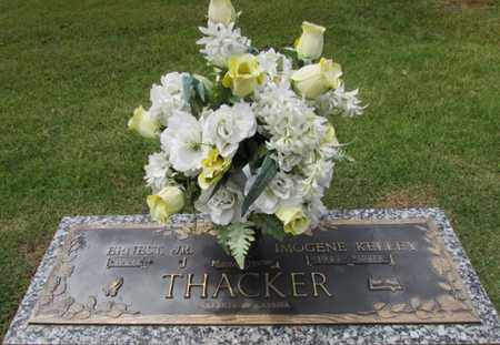 THACKER, IMOGENE - Wayne County, Tennessee   IMOGENE THACKER - Tennessee Gravestone Photos
