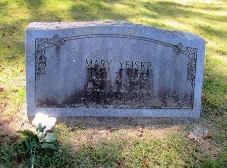 YEISER, MARY - Wayne County, Tennessee   MARY YEISER - Tennessee Gravestone Photos