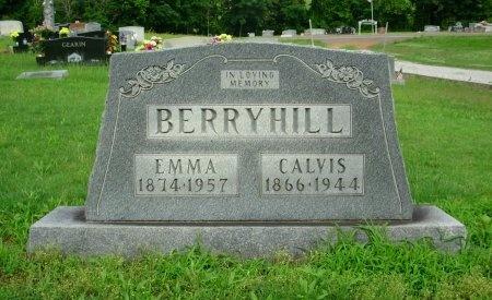 BERRYHILL, EMMA FLORENCE - Weakley County, Tennessee | EMMA FLORENCE BERRYHILL - Tennessee Gravestone Photos