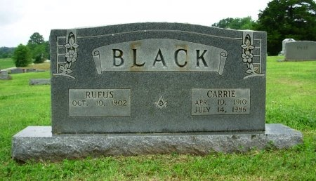 BLACK, CARRIE - Weakley County, Tennessee | CARRIE BLACK - Tennessee Gravestone Photos