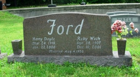 FORD, HARRY DOYLE - Weakley County, Tennessee | HARRY DOYLE FORD - Tennessee Gravestone Photos