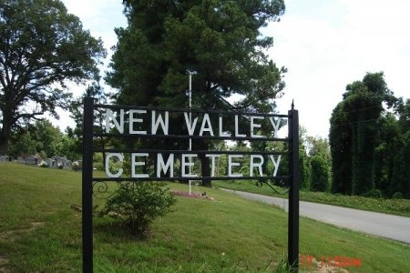 *NEW VALLEY CEMETERY SIGN,  - Weakley County, Tennessee |  *NEW VALLEY CEMETERY SIGN - Tennessee Gravestone Photos