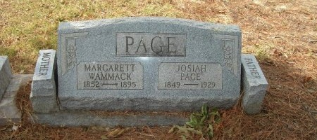 PAGE, JOSIAH - Weakley County, Tennessee | JOSIAH PAGE - Tennessee Gravestone Photos