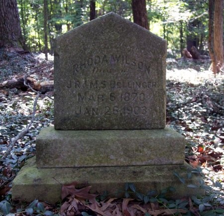 WILSON, RHODA - Weakley County, Tennessee   RHODA WILSON - Tennessee Gravestone Photos