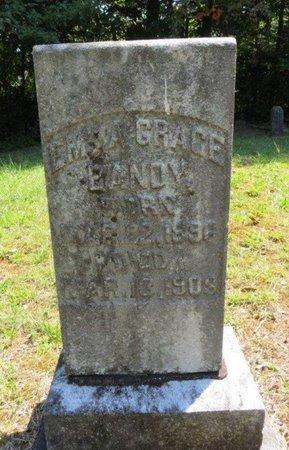 BANDY, EMMA GRACE - White County, Tennessee | EMMA GRACE BANDY - Tennessee Gravestone Photos