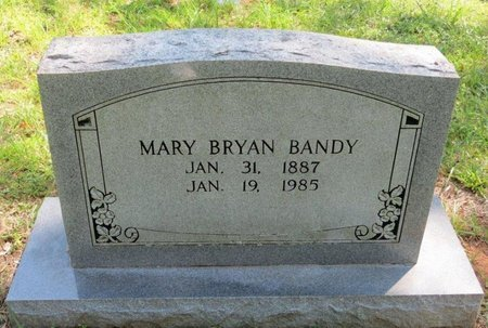 BANDY, MARY - White County, Tennessee | MARY BANDY - Tennessee Gravestone Photos