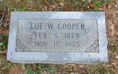WHEELER COOPER, LUE - White County, Tennessee | LUE WHEELER COOPER - Tennessee Gravestone Photos