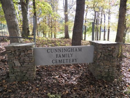 *CUNNINGHAM FAMILY SIGN,  - White County, Tennessee |  *CUNNINGHAM FAMILY SIGN - Tennessee Gravestone Photos