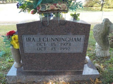 CUNNINGHAM, IRA JESSE - White County, Tennessee | IRA JESSE CUNNINGHAM - Tennessee Gravestone Photos