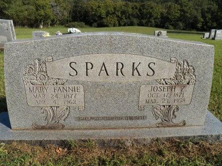SPARKS, JOSEPH Z. - White County, Tennessee | JOSEPH Z. SPARKS - Tennessee Gravestone Photos