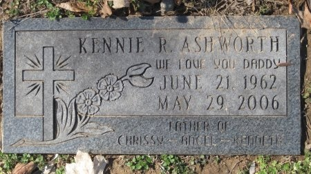 ASHWORTH, KENNIE R. - Williamson County, Tennessee | KENNIE R. ASHWORTH - Tennessee Gravestone Photos