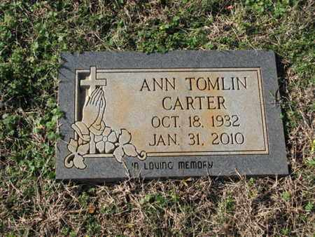 CARTER, ANN - Williamson County, Tennessee | ANN CARTER - Tennessee Gravestone Photos
