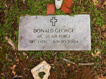 GEORGE (VETERAN), DONALD - Williamson County, Tennessee | DONALD GEORGE (VETERAN) - Tennessee Gravestone Photos