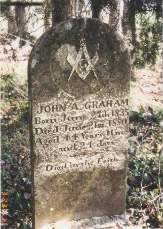 GRAHAM, JOHN ALLEN - Williamson County, Tennessee | JOHN ALLEN GRAHAM - Tennessee Gravestone Photos