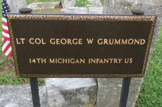 GRUMMOND (VETERAN UNION), GEORGE W. - Williamson County, Tennessee | GEORGE W. GRUMMOND (VETERAN UNION) - Tennessee Gravestone Photos