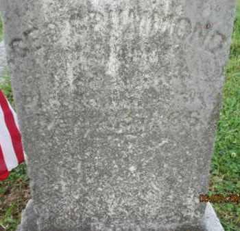 GRUMMOND (VETERAN UNION), GEORGE W. - Williamson County, Tennessee | GEORGE W. GRUMMOND (VETERAN UNION) - Tennessee Gravestone Photos