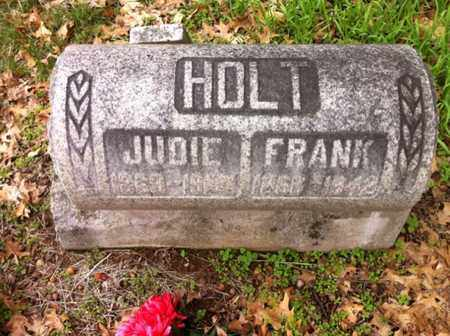 HOLT, FRANK - Williamson County, Tennessee | FRANK HOLT - Tennessee Gravestone Photos