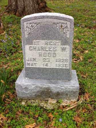 HOOD, CHARLES W. - Williamson County, Tennessee | CHARLES W. HOOD - Tennessee Gravestone Photos