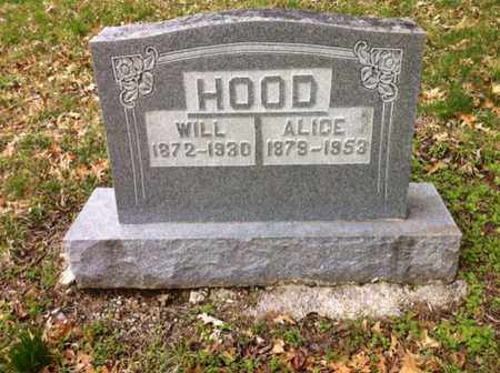 HOOD, ALICE - Williamson County, Tennessee | ALICE HOOD - Tennessee Gravestone Photos