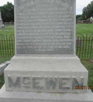 MCEWEN, CYNTIA - Williamson County, Tennessee | CYNTIA MCEWEN - Tennessee Gravestone Photos