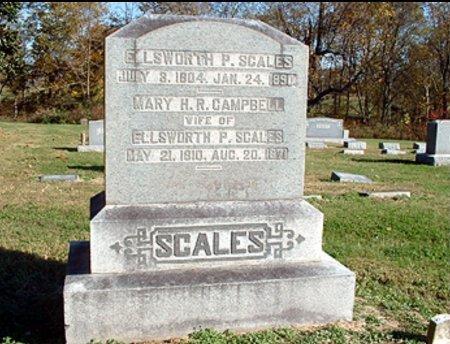 SCALES, ELLSWORTH POINDEXTER - Williamson County, Tennessee | ELLSWORTH POINDEXTER SCALES - Tennessee Gravestone Photos