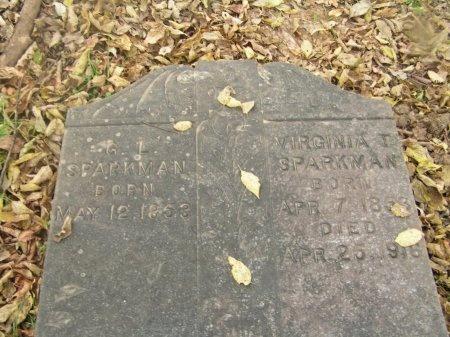 SPARKMAN, GUSTAVUS L. - Williamson County, Tennessee | GUSTAVUS L. SPARKMAN - Tennessee Gravestone Photos