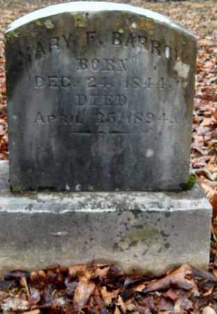 BARROW, MARY F - Wilson County, Tennessee | MARY F BARROW - Tennessee Gravestone Photos