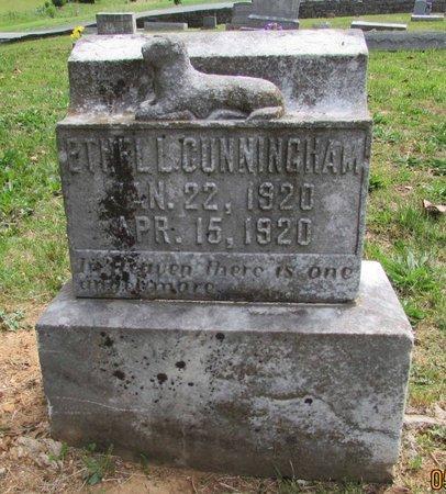 CUNNINGHAM, ETHEL LOUISE - Wilson County, Tennessee | ETHEL LOUISE CUNNINGHAM - Tennessee Gravestone Photos