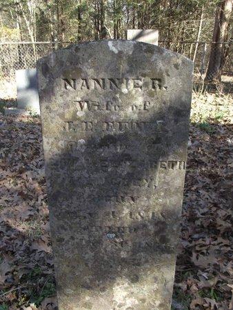 FUQUA, NANNIE R. - Wilson County, Tennessee | NANNIE R. FUQUA - Tennessee Gravestone Photos