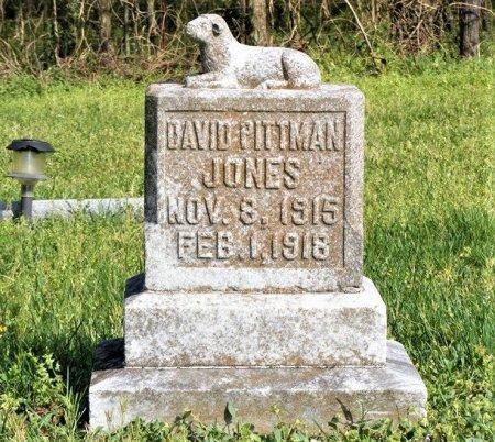 JONES, DAVID PITTMAN - Wilson County, Tennessee | DAVID PITTMAN JONES - Tennessee Gravestone Photos