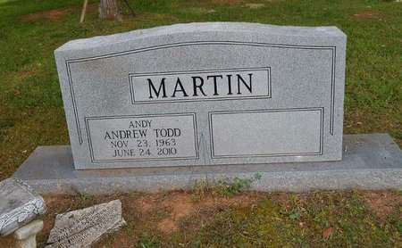 MARTIN, ANDREW TODD - Wilson County, Tennessee | ANDREW TODD MARTIN - Tennessee Gravestone Photos