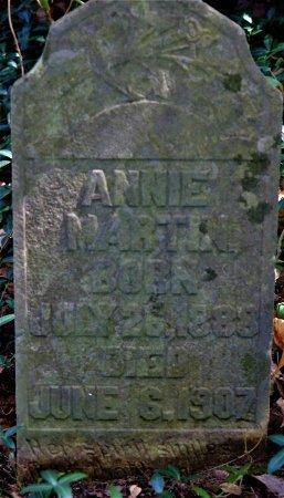 MARTIN, ANNIE - Wilson County, Tennessee | ANNIE MARTIN - Tennessee Gravestone Photos
