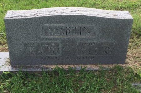MARTIN, EMORY LEE - Wilson County, Tennessee | EMORY LEE MARTIN - Tennessee Gravestone Photos