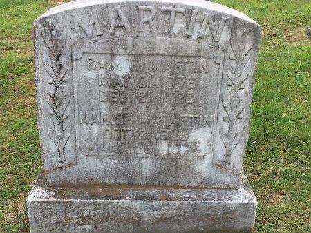 MARTIN, NANNIE L - Wilson County, Tennessee | NANNIE L MARTIN - Tennessee Gravestone Photos