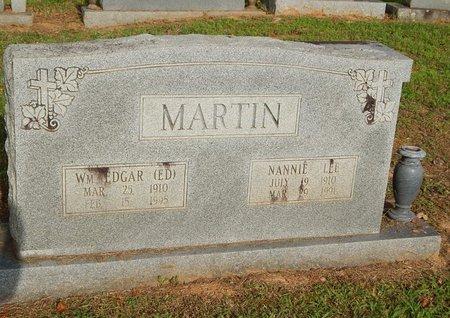 MARTIN, NANNIE LEE - Wilson County, Tennessee | NANNIE LEE MARTIN - Tennessee Gravestone Photos