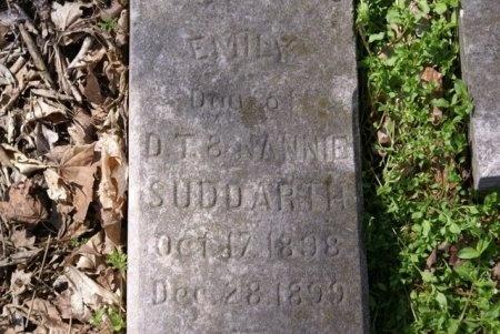 SUDDARTH, EMILY - Wilson County, Tennessee | EMILY SUDDARTH - Tennessee Gravestone Photos