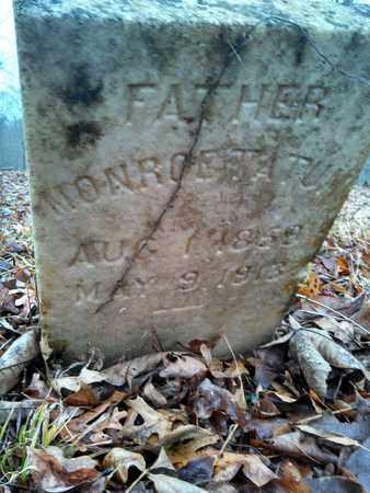 TATUM, MONROE - Wilson County, Tennessee | MONROE TATUM - Tennessee Gravestone Photos