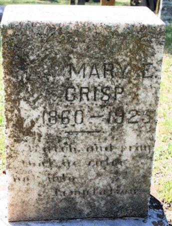 CRISP, MARY ELIZABETH - Anderson County, Texas | MARY ELIZABETH CRISP - Texas Gravestone Photos